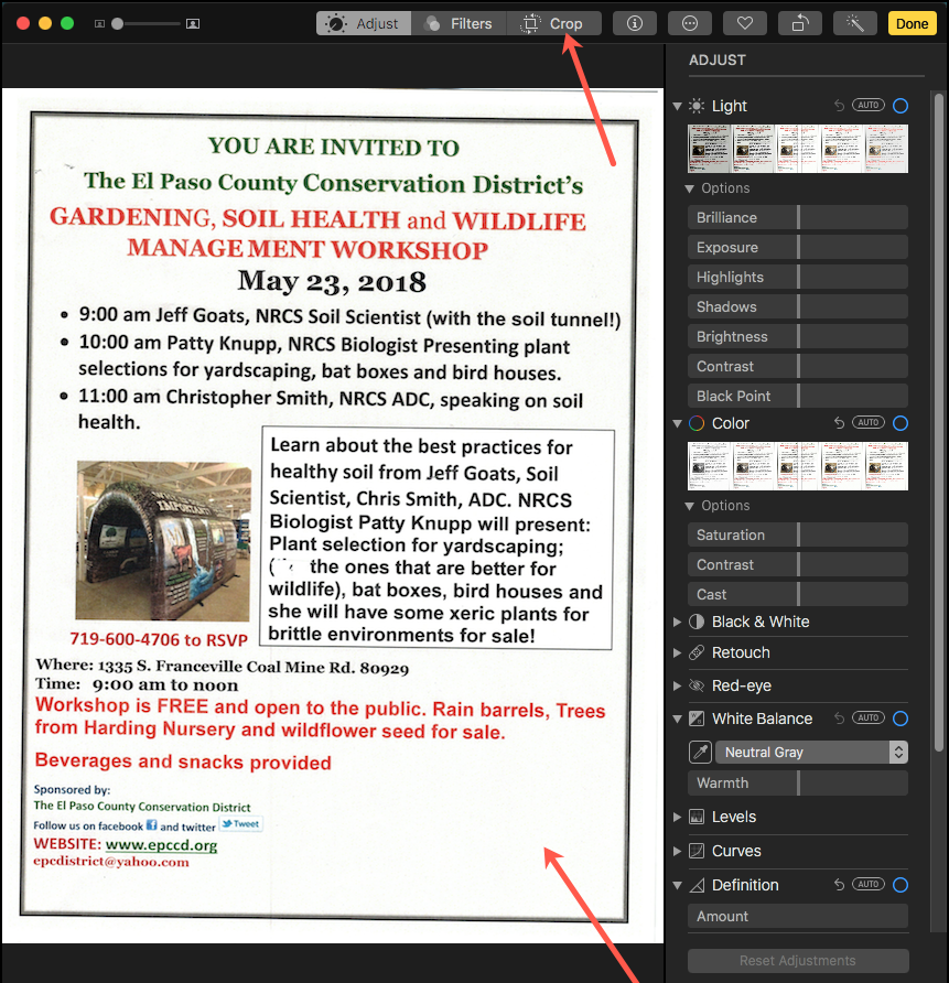 Skewed PDF