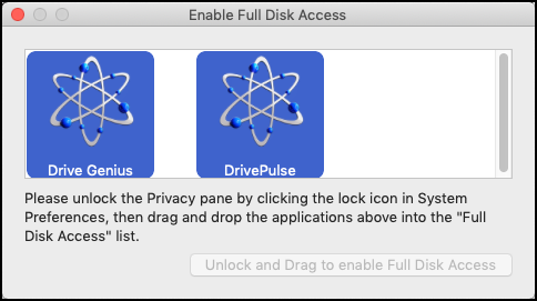 Full Disk Access