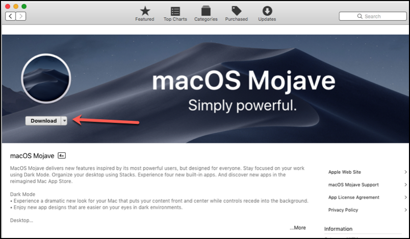 Mojave Download