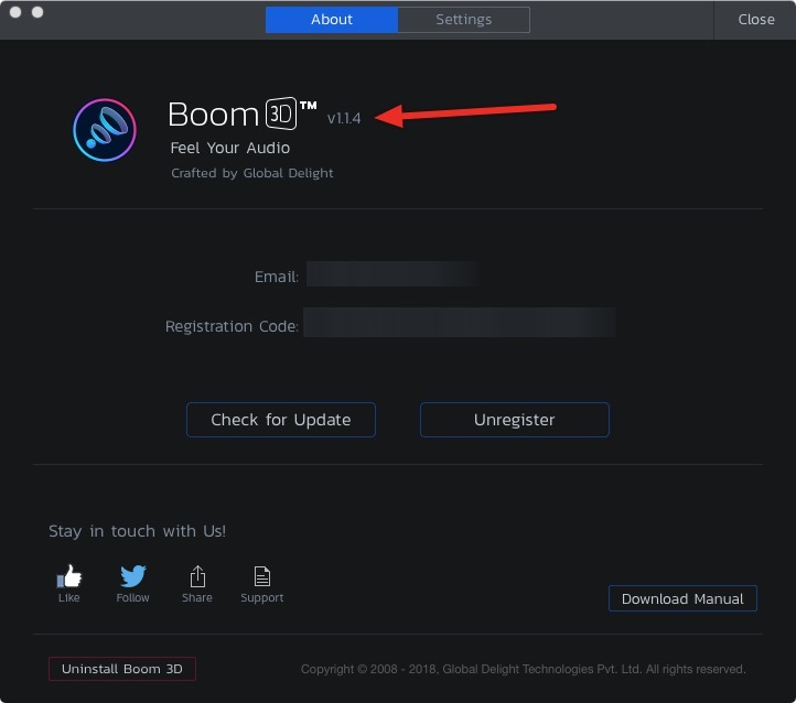 Boom 3D Update