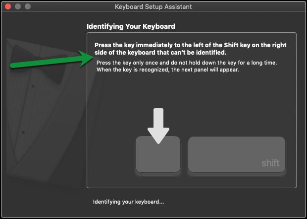 Right Shift Key