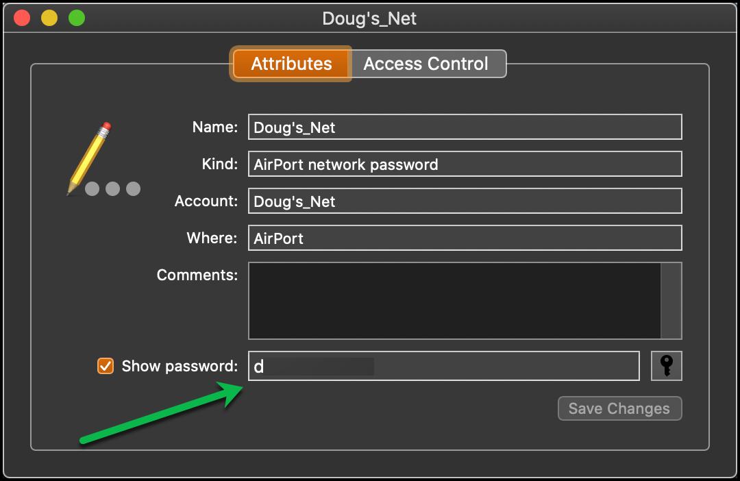 Network Password