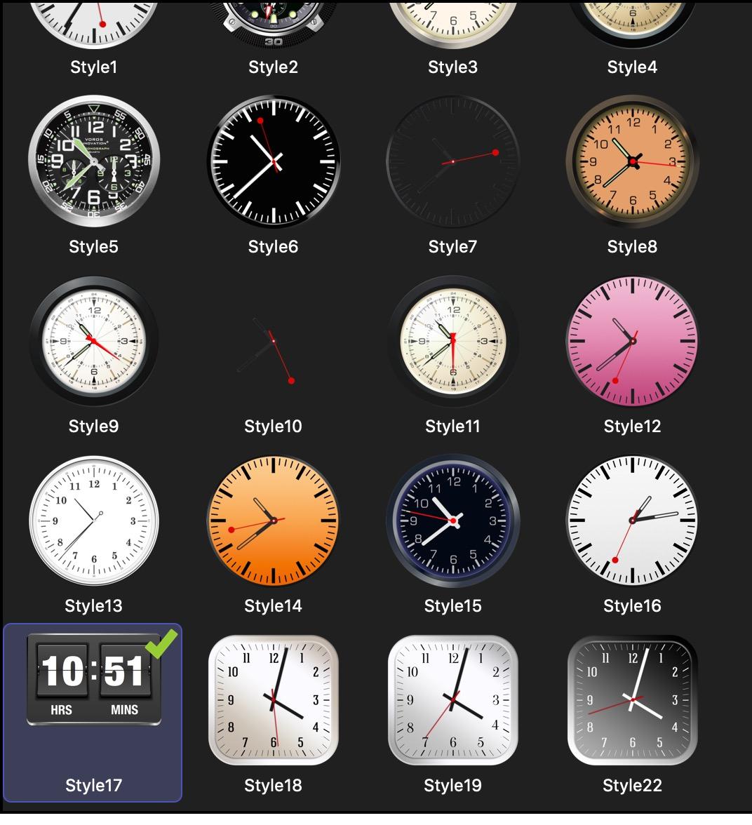 Type Clock