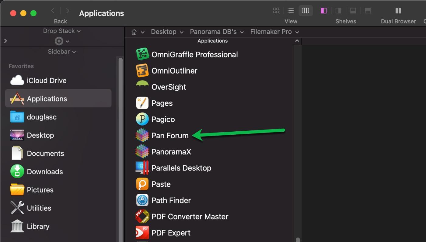 Applications Folder